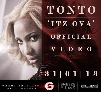 Tonto Dikeh Feat  Snypa — Itz Ova (Official Video) | O'kay Sundry